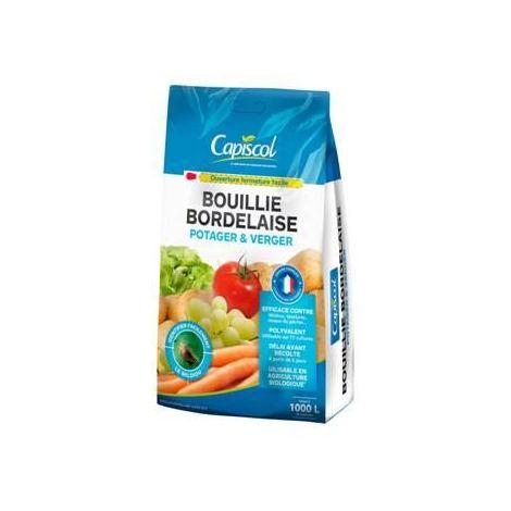 photo montrant le paquet de Bouillie Bordelaise capisol en 5 kg