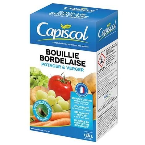photo montrant le paquet de Bouillie Bordelaise capisol en 800 grs